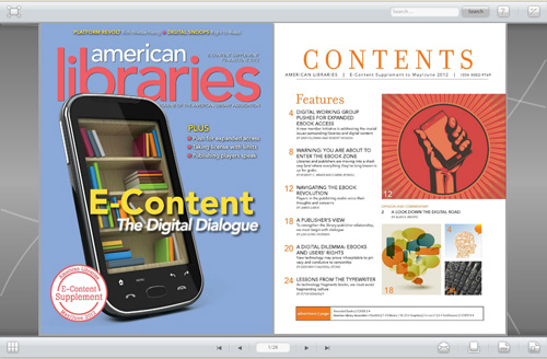 American Libraries Digital Supplement