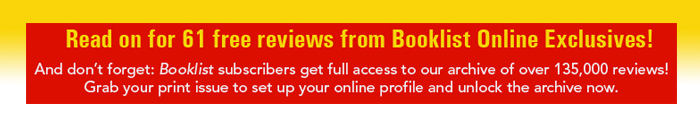 Subscribe to Booklist Online Exclusives