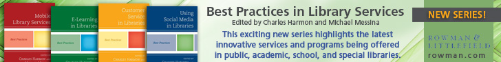 Rowman & Littlefield - Best Practices in Library Services