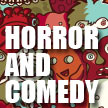 Horror and Comedy, by David Pitt