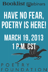 Booklist Webinars - Have No Fear, Poetry Is Here