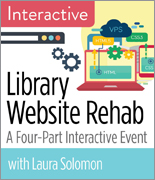 Library Website Rehab: A Four-Part Interactive Event